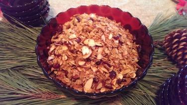Cranberry Almond Granol