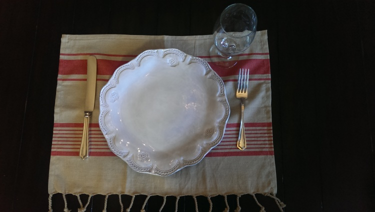 dish towel place mat